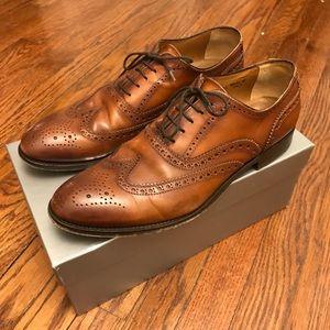 Antonio Maurizi Brown Wingtip Shoes